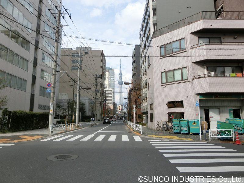 東京支店への道のり6