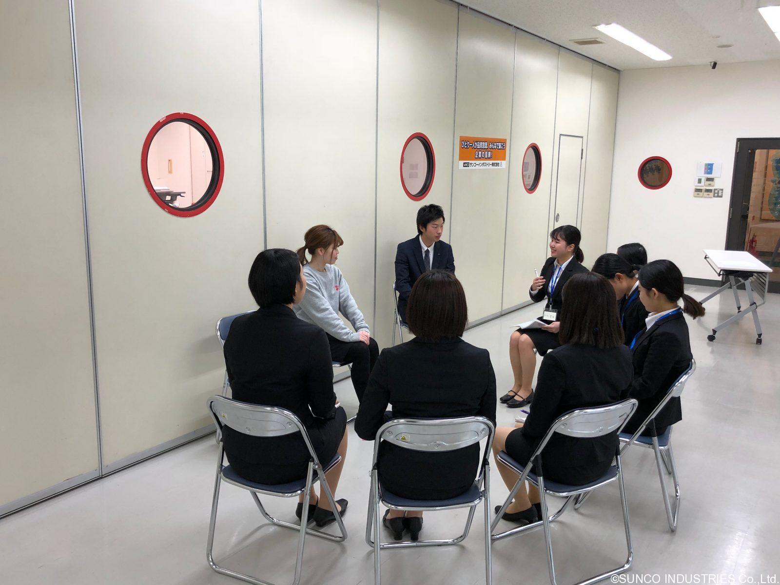 企業研究会㏌本社②