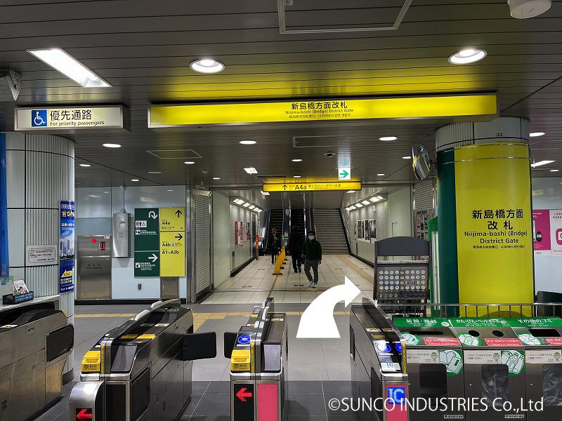 東京支社への道のり1