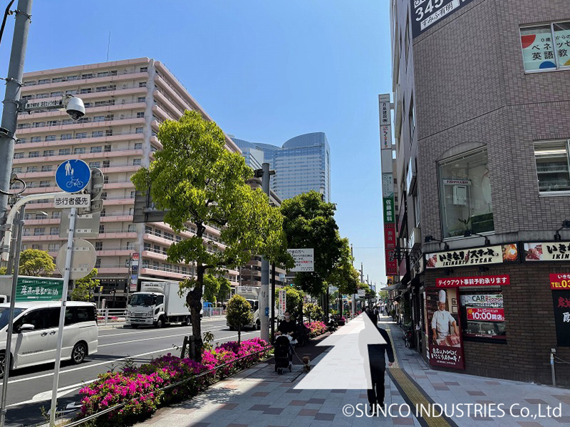 東京支社への道のり11