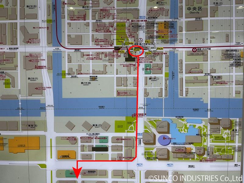 東京支社への道のり2